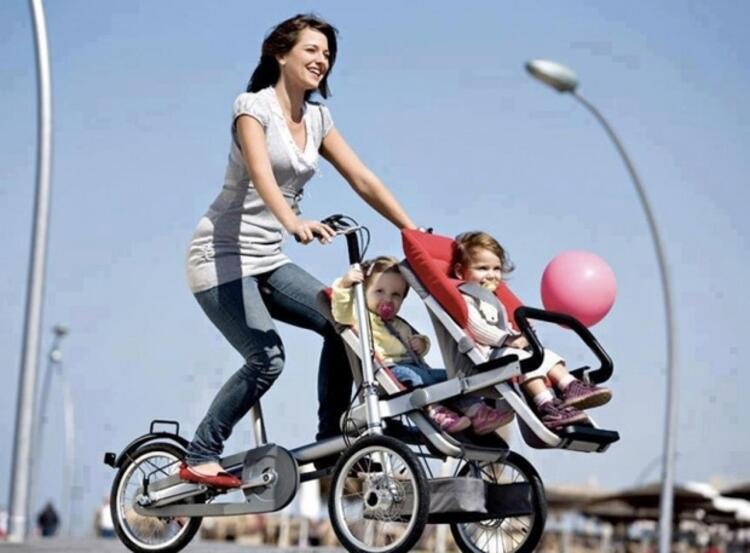 Ebeveynlere özel bisiklet