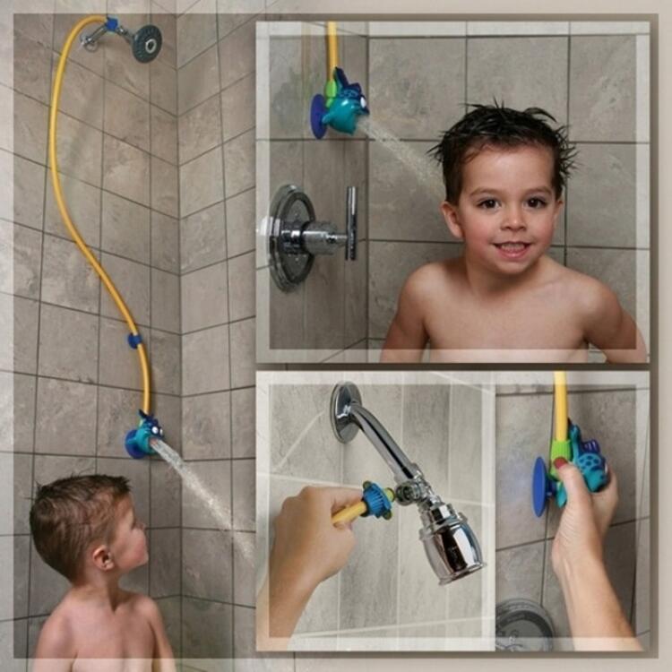 Çocuklar için eğlenceli duş başlığı