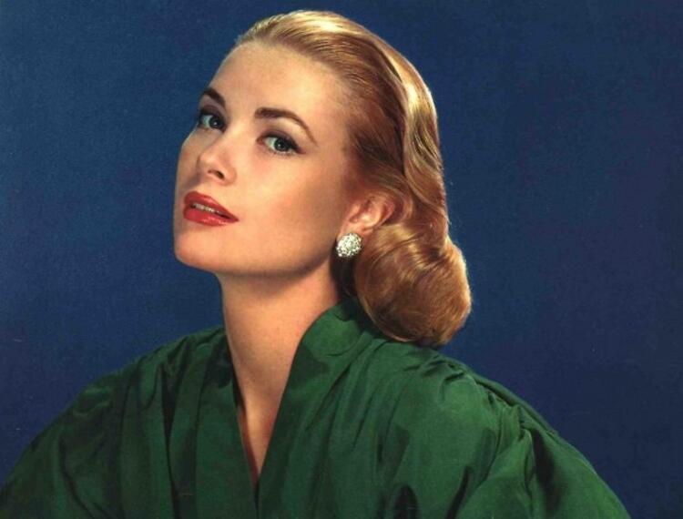 3. Grace Kelly ve çok beğenilen saç modeli