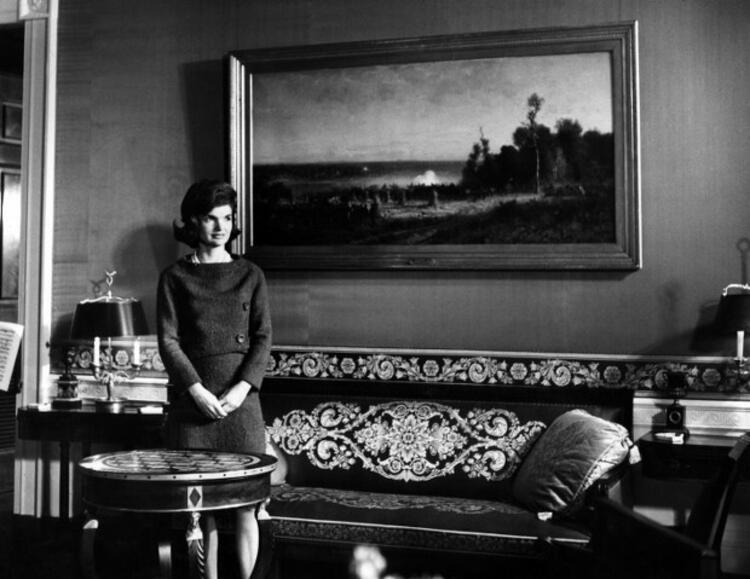 7. John F. Kennedynin eşi Jackie Onun saçları
