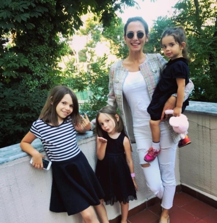Ece Doğulu ve kızları Arya&Lila&Elya