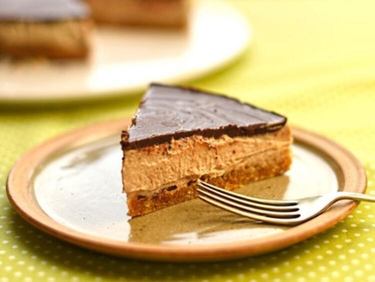 Kestaneli ve çikolatalı tart