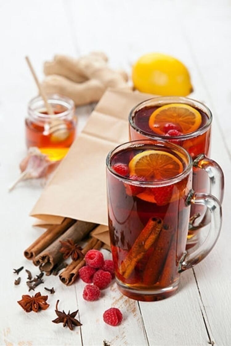 Diyetisyen Emre Uzun'dan Portakallı Kış Çayı tarifi:
