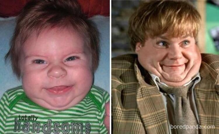 Minik Grady, Chris Farleye benziyor.