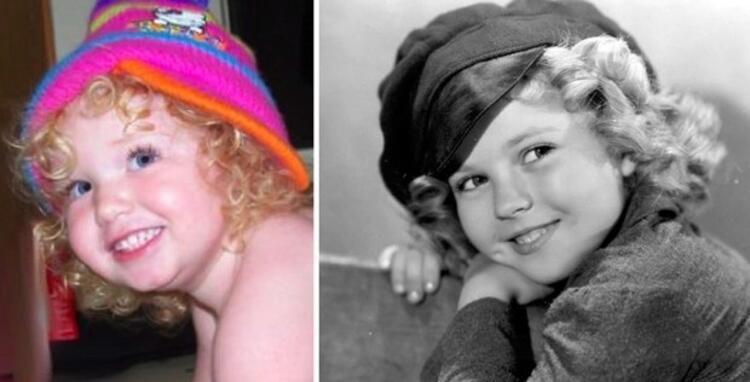 Morgan Shirley Templea benziyor.