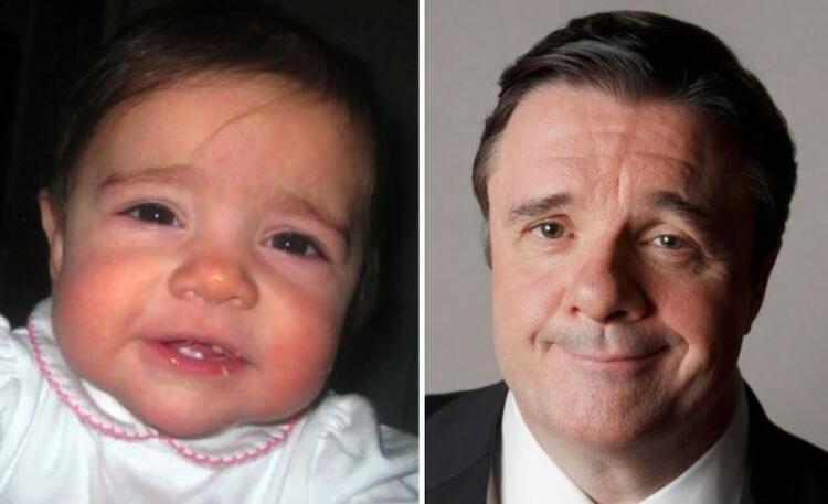 Bebek Nathan Lanee benziyor.