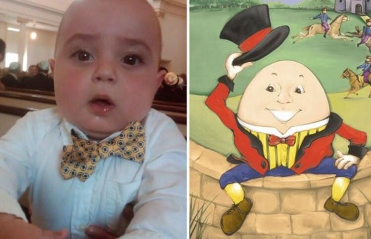 Minik Charlie, Humpty Dumptye benziyor.