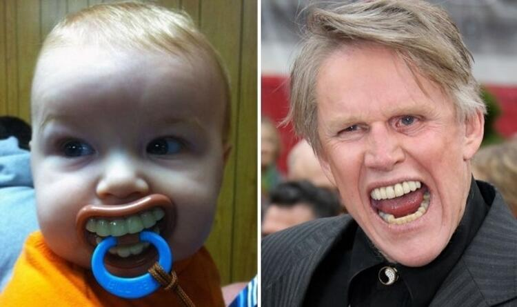 Gary Busey dişlerine sahip olmak...