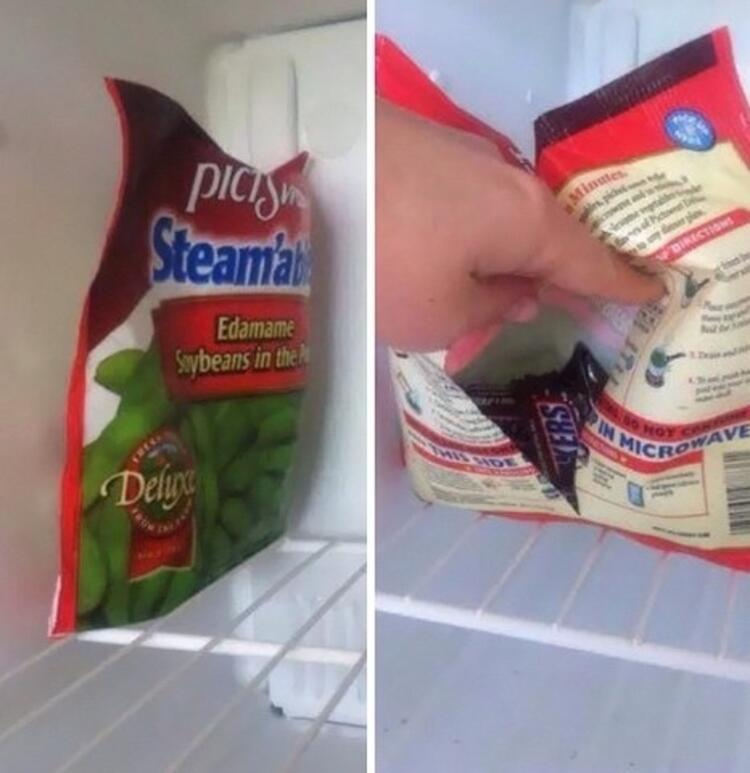 Dondurma kabındaki sarma misali.