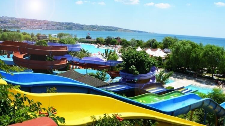 Havuzda ve aqua parklarda serinleyin