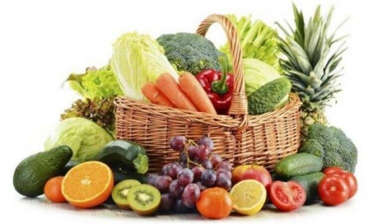 1) Kış meyve ve sebzeleri tüketin