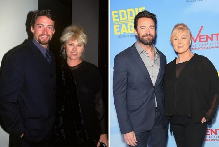 Hugh Jackman ve Deborra-Lee Furness