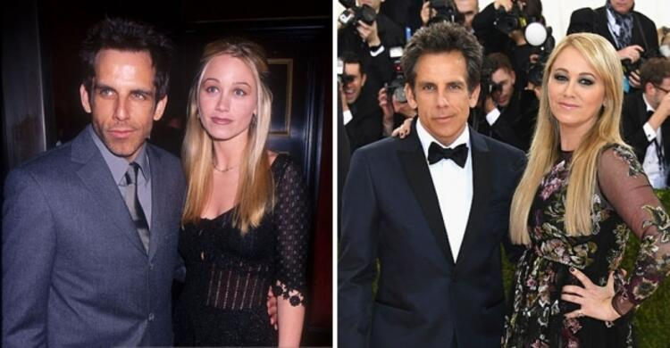 Ben Stiller ve Christine Taylor