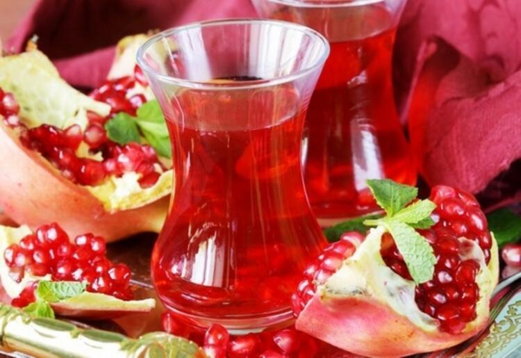 Nar kabuğu çay olarak tüketilebilir
