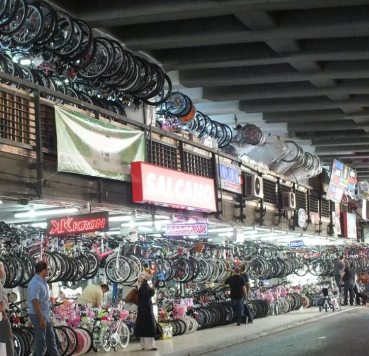 Unkapanı Haşim İşcan Geçidi-Bisikletçiler çarşısı- İSTANBUL
