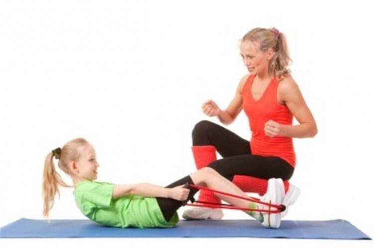 Küçük yaşta yapılan doğru egzersizler, doğru alışkanlıkları kazandırır