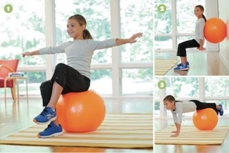 Pilates, uygun egzersiz ile pelvis bölgesindeki kasları geliştirir
