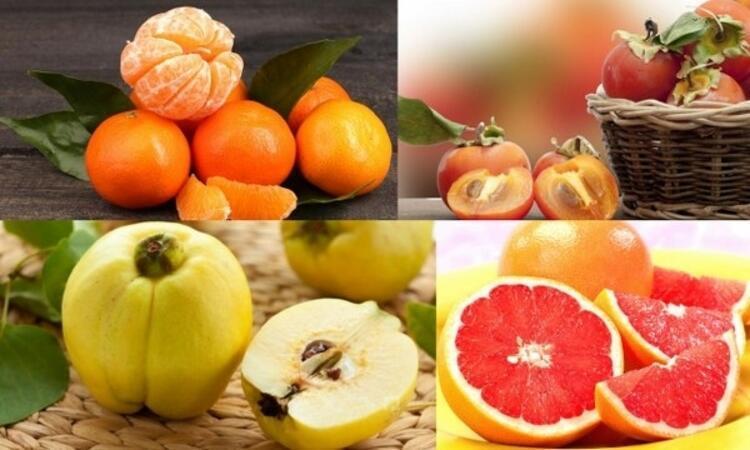 Kasım ayı meyveleri;