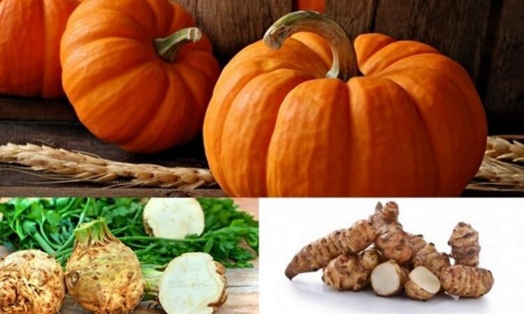 Kasım ayı sebzeleri;