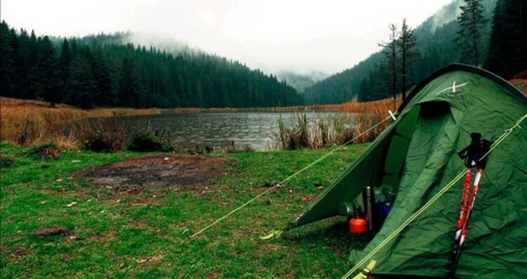 Yenice Ormanlarında kamp yapmak