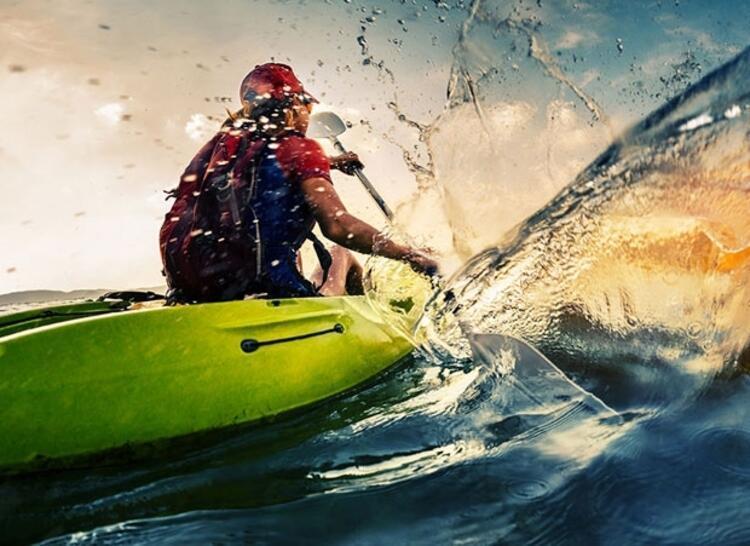 Kızılırmak'ta kano yapmak