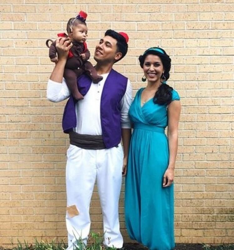 Aladdin, Jasmine ve Abu