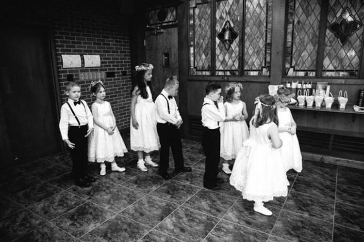 3. Kinsey öğrencileri olmadan düğününün o kadar da özel olmayacağını düşünmüş.