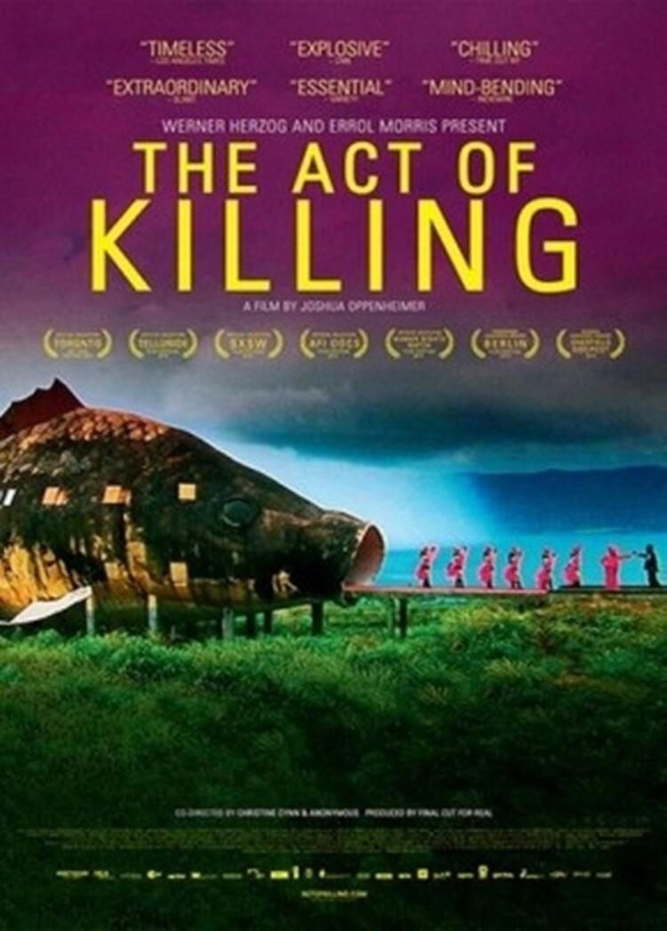 14. The Act of Killing (Öldürme Eylemi)
