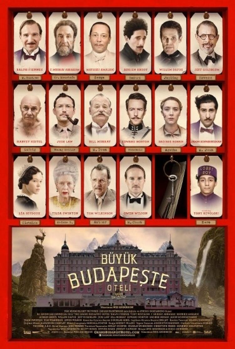 21. The Grand Budapest Hotel (Büyük Budapeşte Oteli)