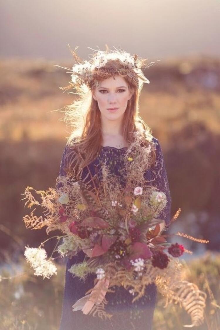 Mevsim çiçekleriyle ve...