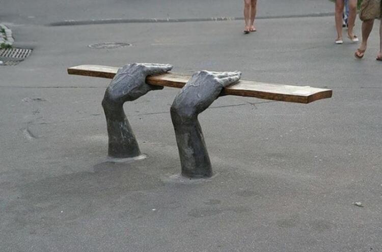 4 Bench In Kiev, Ukrayna