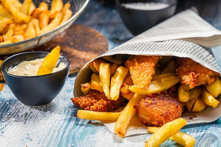 İngiltere: Fish and Chips