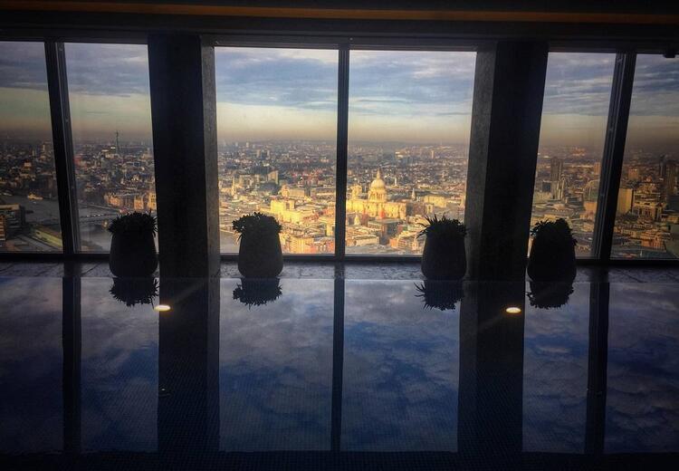 2- Shangri-La Hotel Londra / İngiltere