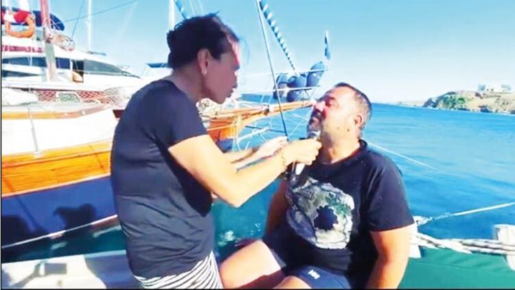 Teknede sakal tıraşı
