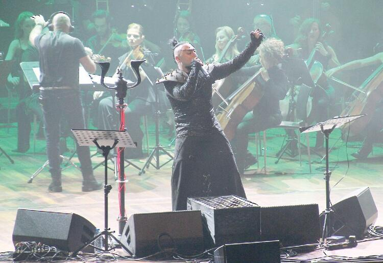 Konseri yayında
