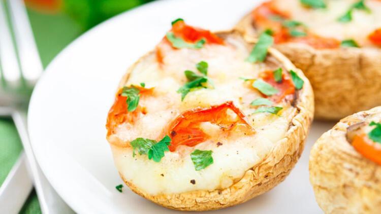 Mantarlı domatesli yumurta tarifi