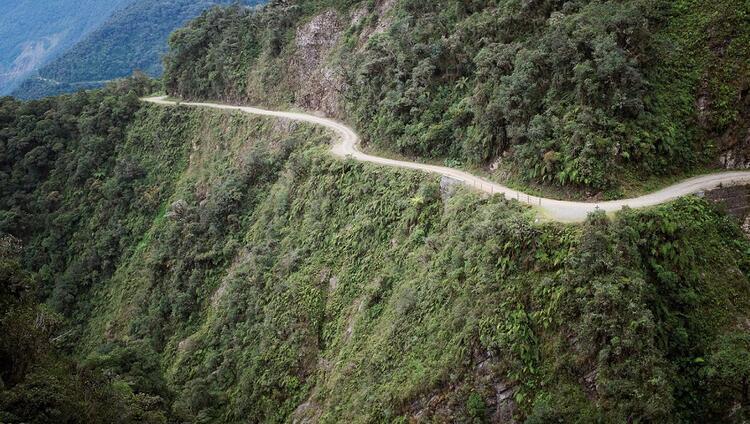 Ölüm Yolu / Bolivya