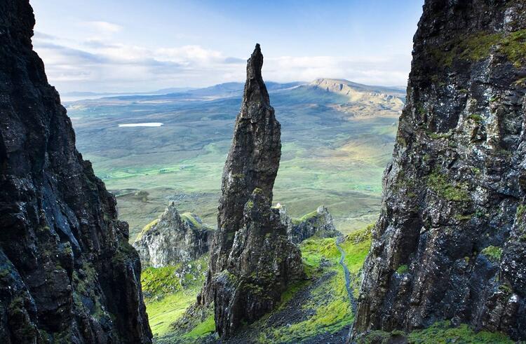 Quiraing, İskoçya