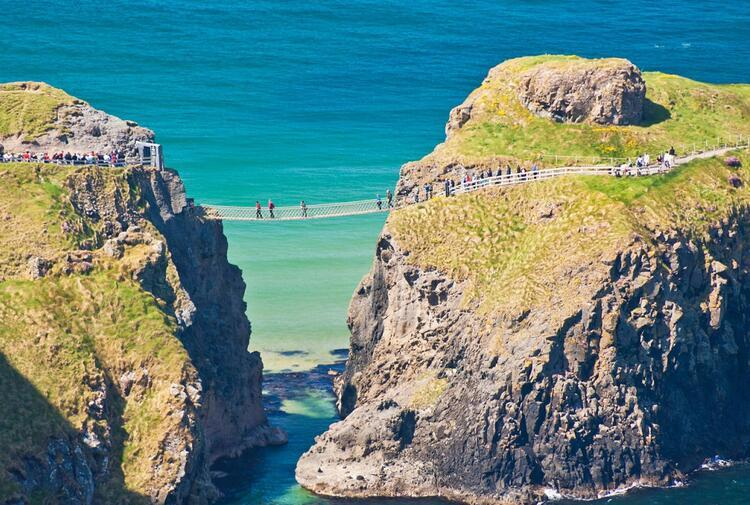 Carrick-a-Rede, İrlanda