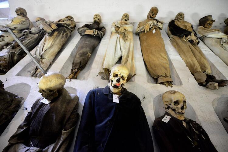 Catacombe dei Cappuccini / İtalya