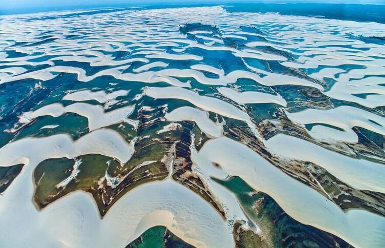 Lençois Maranhenses National Park / Lençois Maranhenses Ulusal Parkı (Brezilya)