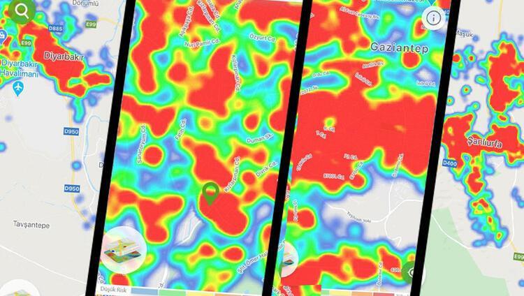 Ankara, Gaziantep, Şanlıurfa ve Diyarbakırda son durum İşte bölgelerde risk haritaları