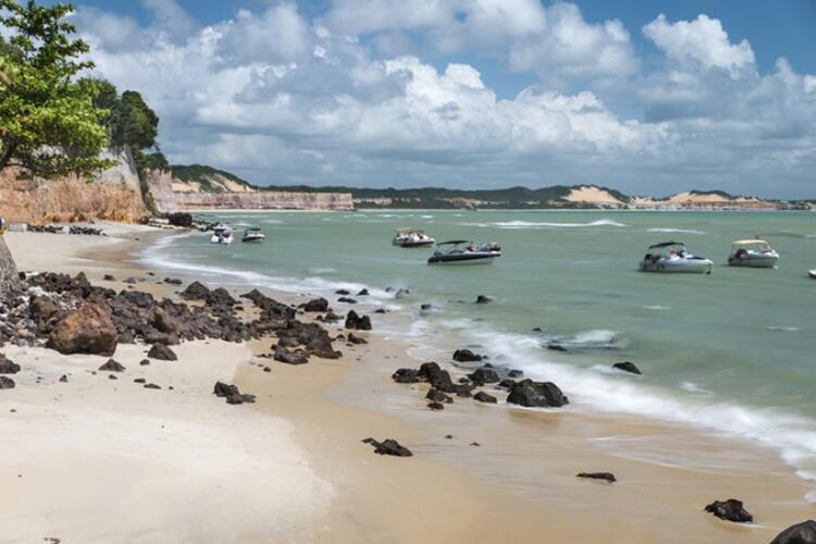 Falésia Beach / Olhos de Agua, Portekiz
