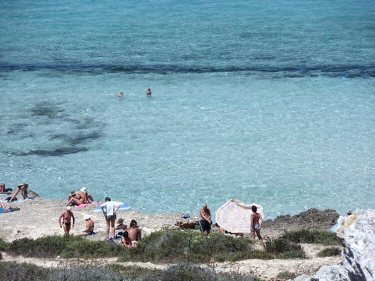 Spiaggia di Cala Rossa / Favignana, Aegadian Adası