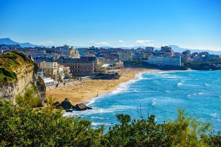 La Côte des Basques / Biarritz, Fransa