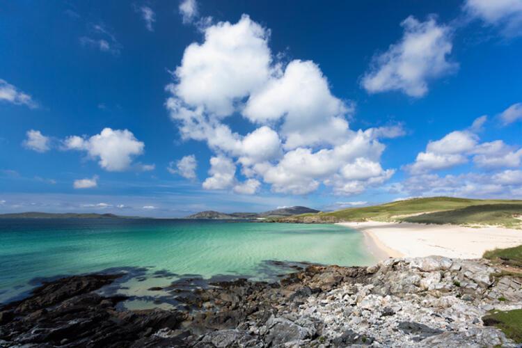Luskentyre / Isle of Harris, Lewis and Harris, Outer Hebrides /İskoçya