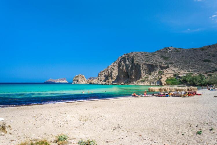Kleftiko Beach / Milos, Cyclades /Yunanistan