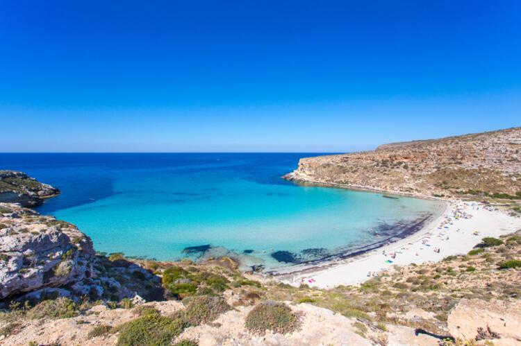 Spiaggia dei Conigli / Lampedusa, Islands of Sicily