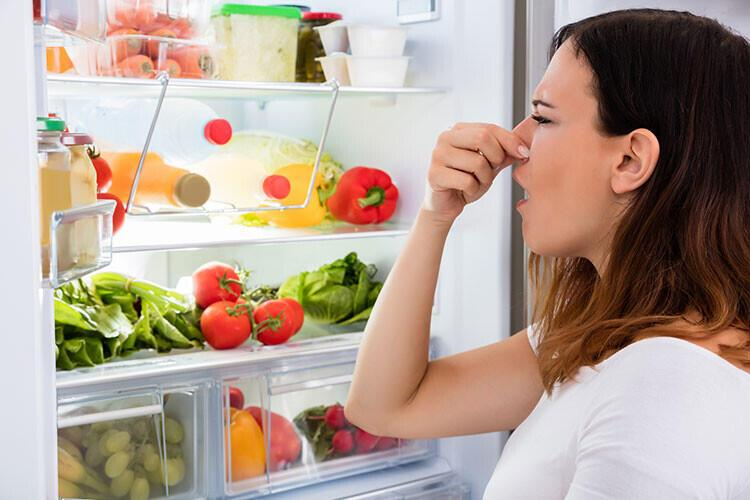 Buzdolabı kokusunu yok eder