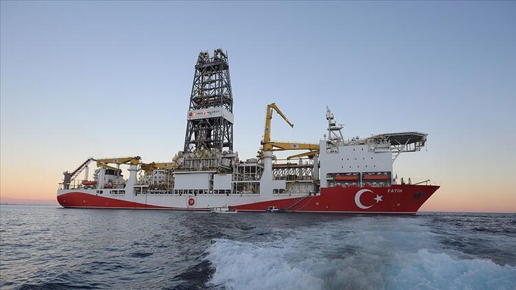 Fatih Sondaj Gemimiz 320 milyar metroküp doğal gaz rezervi keşfetti